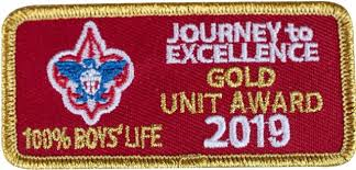 Journey to Excellence 2019 Gold Award Winner